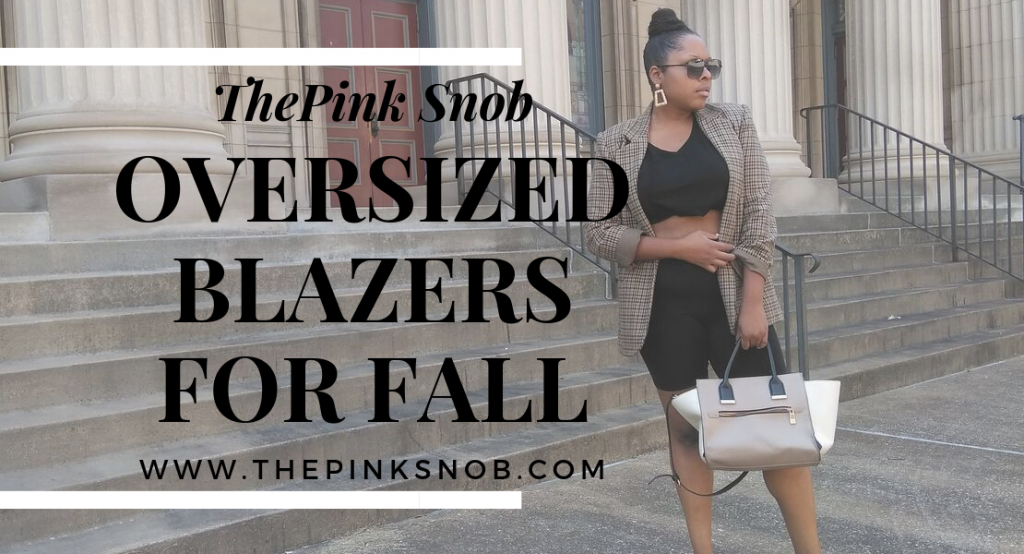 Oversized Blazers for Fall.