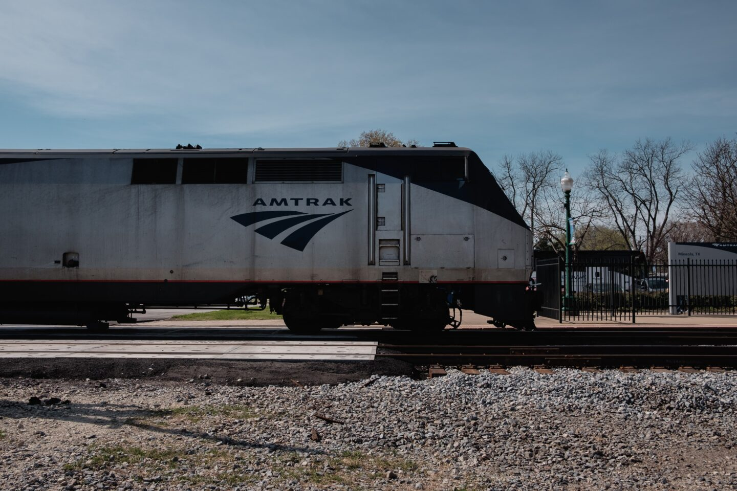 traveling with Amtrak.